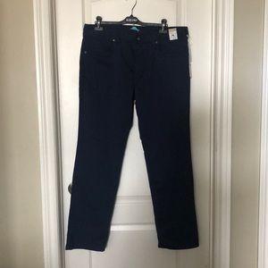NWT Tommy Bahama navy five pocket pants